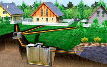 Водоотведение загородного дома