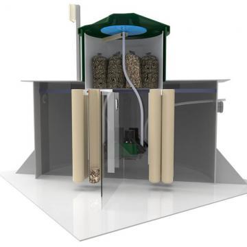 Автономная канализация Коло Веси 8 прин низкий корпус